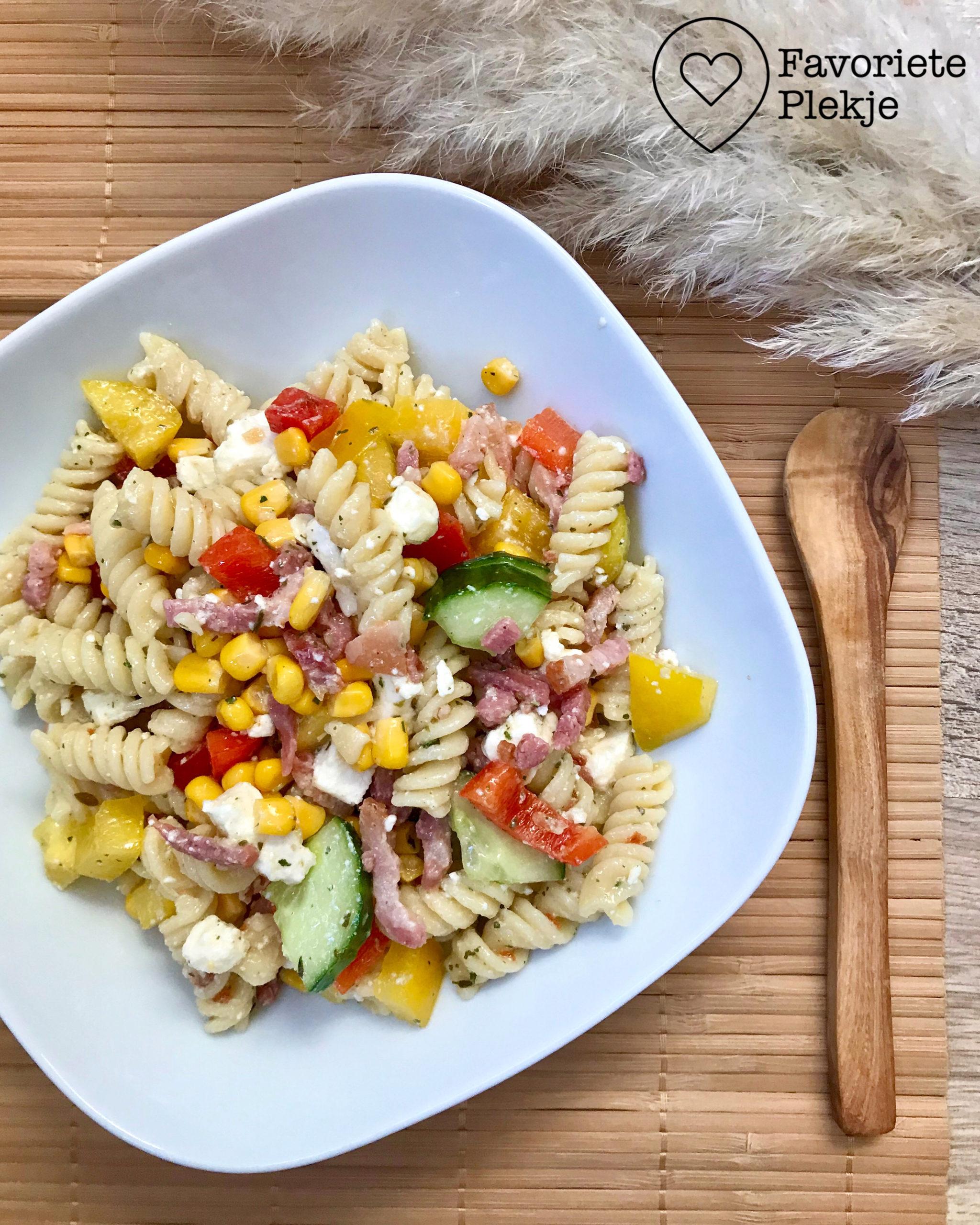 Recept: Mijn favoriete pastasalade!