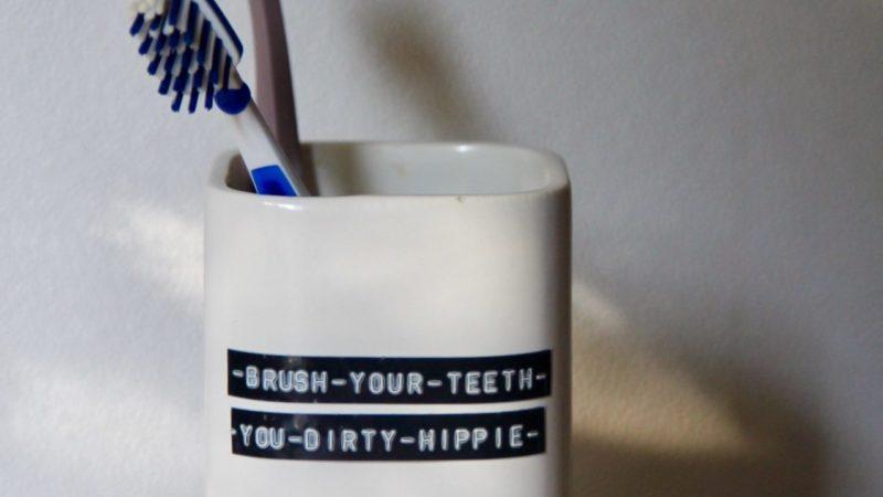 DIY: Tandenborstelbeker van de kringloop